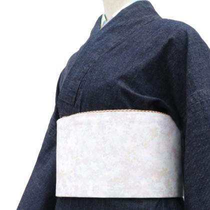 もめんの半幅帯 撰 花吹雪/Y
